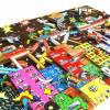 3D pop art stadt bunte häuser wand bild kunst color blocking fine art limited edition Bild 2