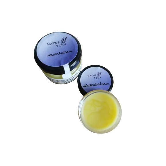 Nasenbalsam Nasensalbe - 100 % Natürliche Inhaltsstoffe Bild 1