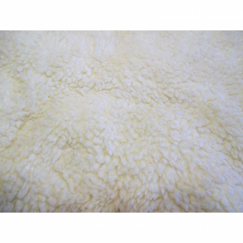 HILCO, Plüsch ,Teddystoff ,cremeweiß,Oeko-Tex Standard 100(1m/17,40 €) Bild 1