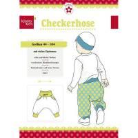 Papierschnittmuster Checkerhose Gr. 44 - 104 Bild 1