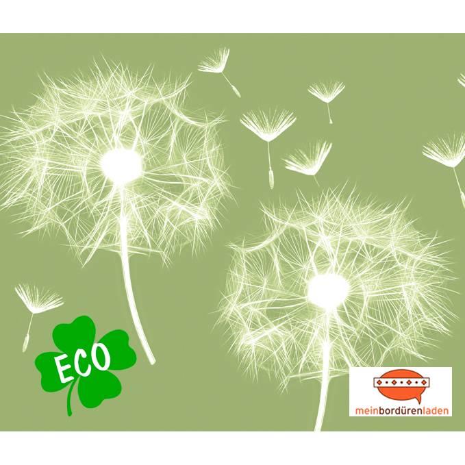 ECO Vlies Bordüre: Pusteblume - 12 cm Höhe Bild 1