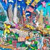 New York City 3D pop art skyline bild papier kunst mixed media geschenk souvenir manhattan big apple  Bild 2