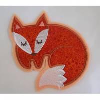 Große Fuchs Applikation Bild 1