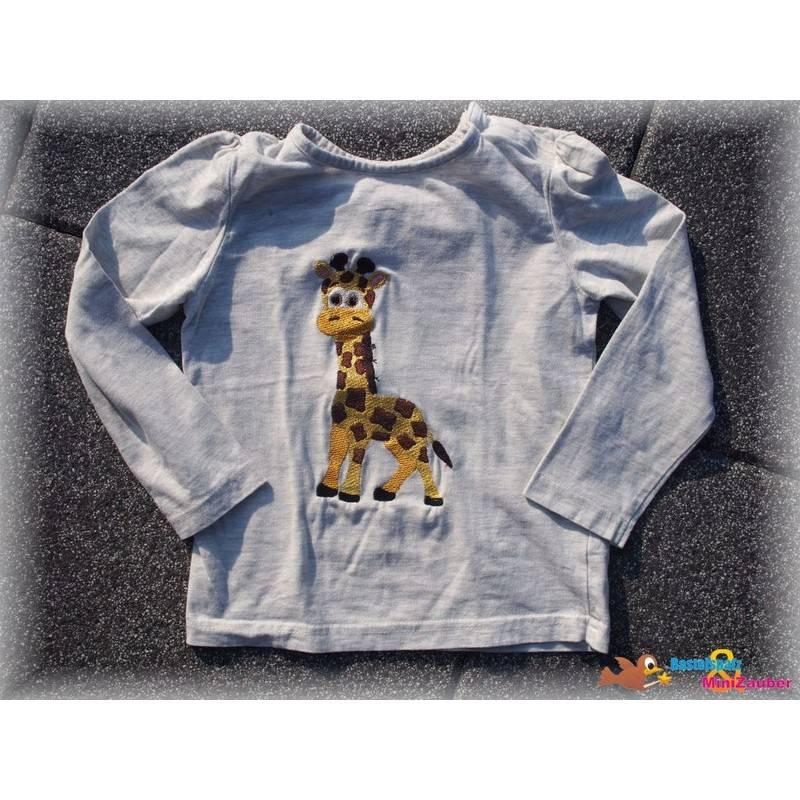 Stickdatei Giraffe Glitzer 13x18 Bild 1