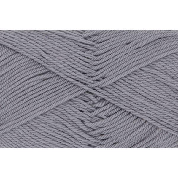 Cotton Quick Uni - 100 % Baumwolle - 50 g Knäuel - Farbe 70 silbergrau Bild 1