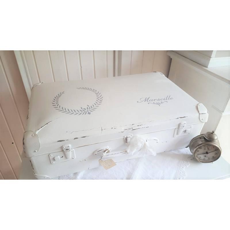 Ein traumhafter uralter Koffer im Shabbykleid Bild 1