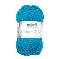 Cotton Quick Uni - 100 % Baumwolle - 50 g Knäuel  - Farbe 143 petrol