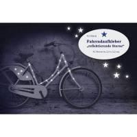 """Reflektor Fahrradtattoo Fahrradaufkleber """"Sterne"""" 42 Stück, Sticker, wasserfest, reflektierend Bild 1"""