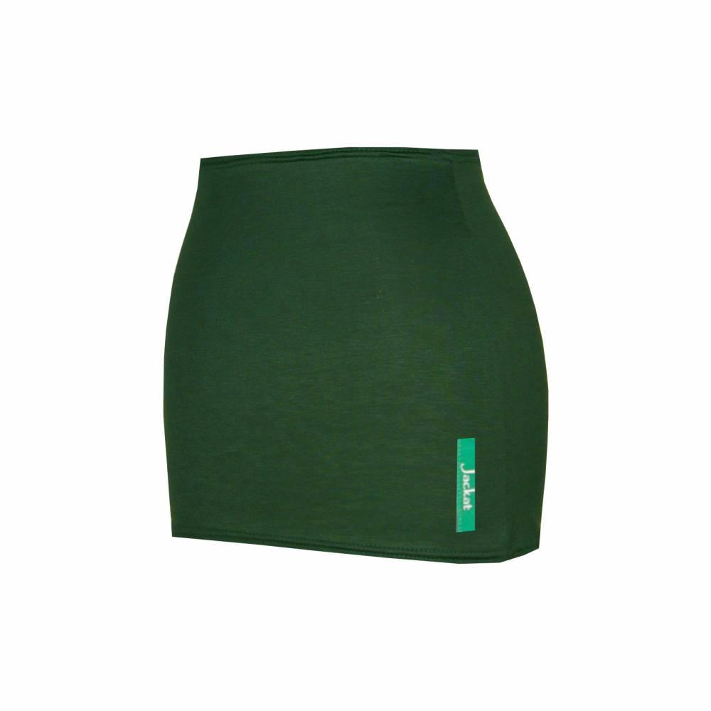 Bauchband dunkelgrün, grün, Bauchtuch, Bellyband, Shirtverlängerung Bild 1
