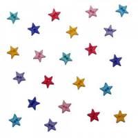 Dress it Up Knöpfe Kinderknöpfe Buttons Kunststoffknöpfe Micro Mini Stars Flirt Bild 1