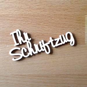 Schriftzug Baby Geburt Taufe  Dekoration Sperrholz Holz