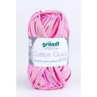 Cotton Quick Print 100 % Baumwolle 50 g Knäuel  - Farbe 193 rosa fuchsia multicolor