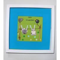 Geldgeschenk Reise Urlaub Einzug Hochzeit Gutscheingeschenk personalisiertes Geld Geschenk Bild KieselsteineTreibholz 3 D Bild maritim  Bild 1