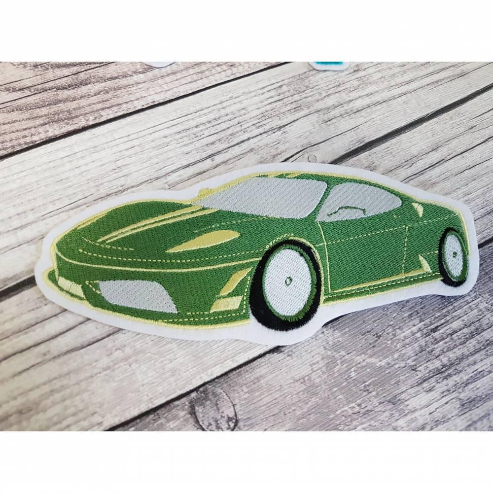 Applikation Sportwagen/Rennwagen XL in Vollstick - für Deine DIY-Projekte Bild 1