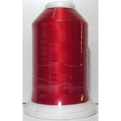 """5000m - Maschinenstickgarn  """"  Madeira Rheingold  -  kräftiges Rot  5838  """"  100% Polyester"""