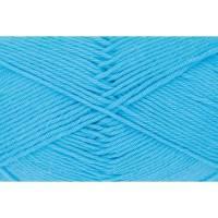 Cotton Fun - 100 % Baumwolle - 50 g Knäuel - Farbe 09 himmelblau Bild 1