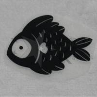 Bügelbild - süßer Fisch - viele mögliche Farben Bild 1