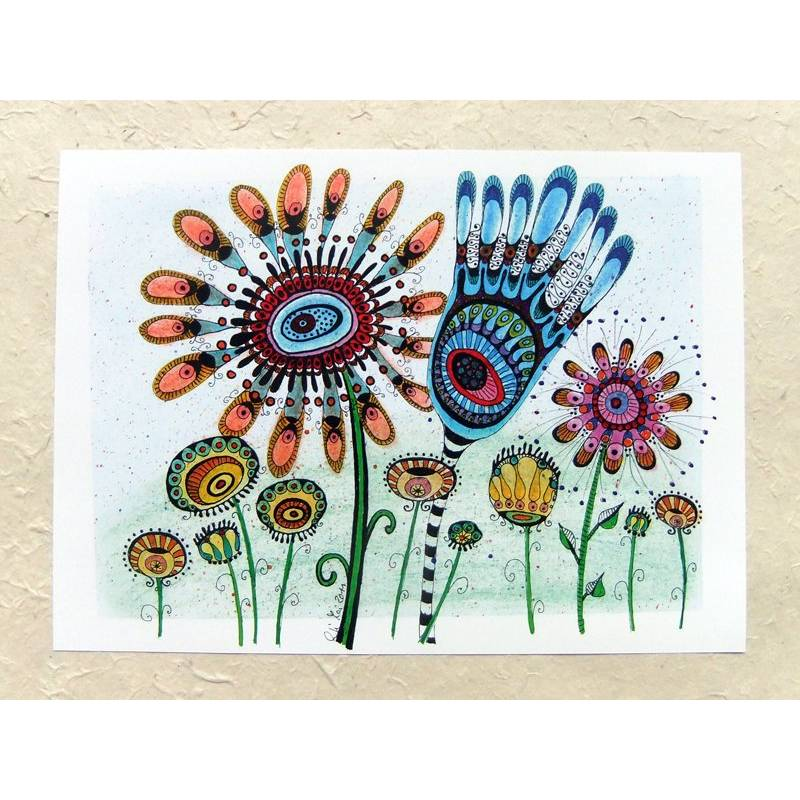 Digitaldruck DinA 4, Bild, Blumenwiese 2 Bild 1