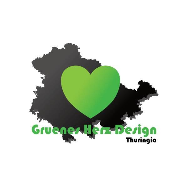 Gruenes Herz Design