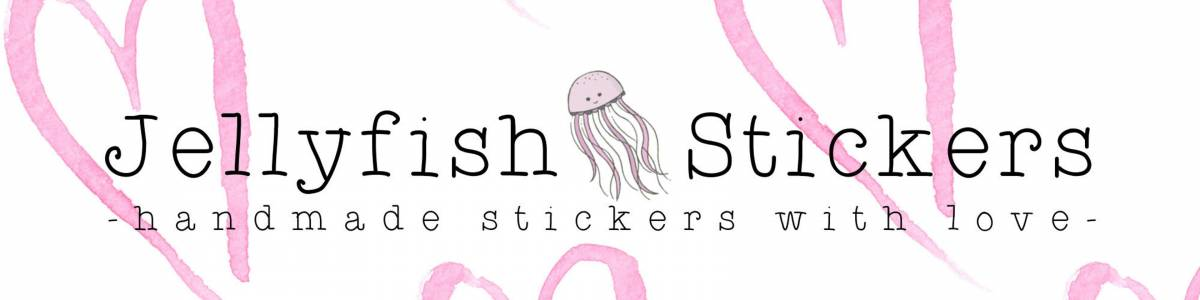 Jellyfish Stickers auf kasuwa.de