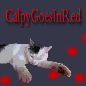 CalpyGoesInRed