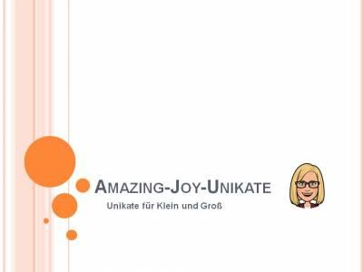 Amazing-Joy-Unikate auf kasuwa.de