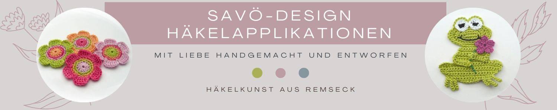 SaVö-Design Häkelapplikationen auf kasuwa.de