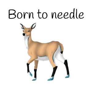 Born to needle