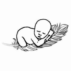 Federleicht Baby