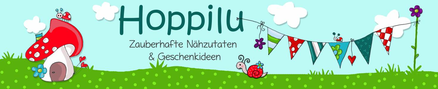 Hoppilu Zauberhafte Nähzutaten auf kasuwa.de