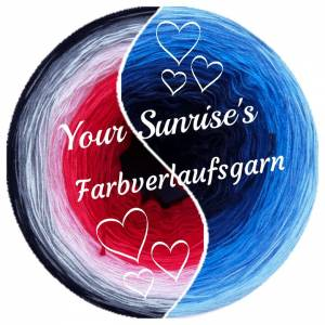 Your Sunrise's Farbverlaufsgarn